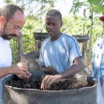 Mark Hare in Haiti