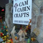 CAM Cabin Crafts sign