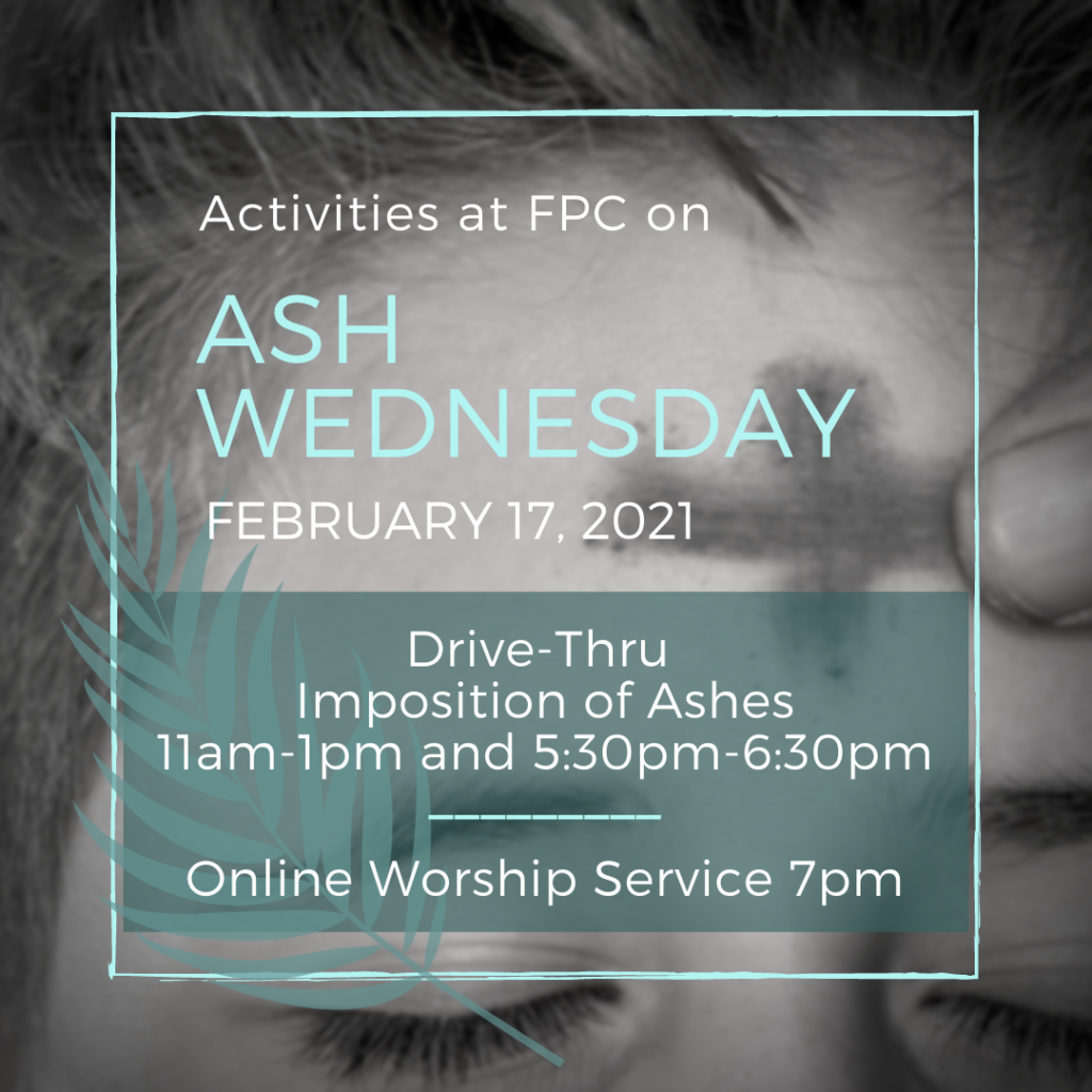 FPC Lenten Events