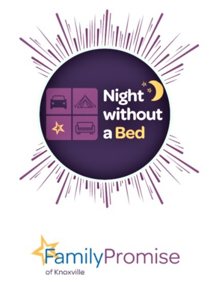 """Family Promise """"Night without a Bed"""" challenge"""